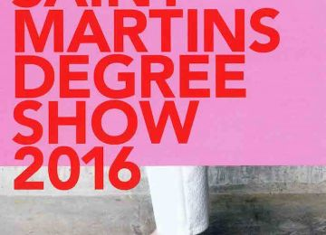 Degree Show Invitation, 24th May 2016